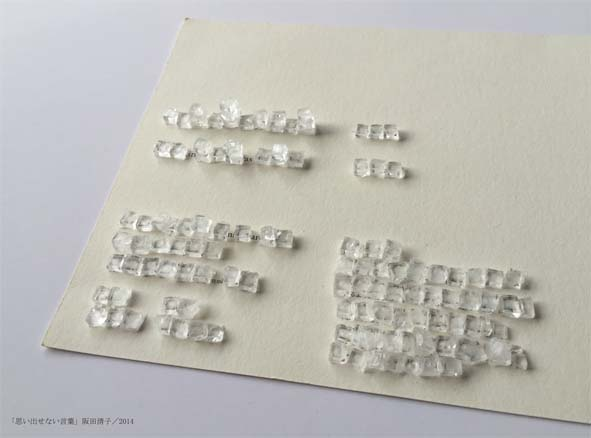 阪田清子個展『雪道で落とし物をしてはいけない』